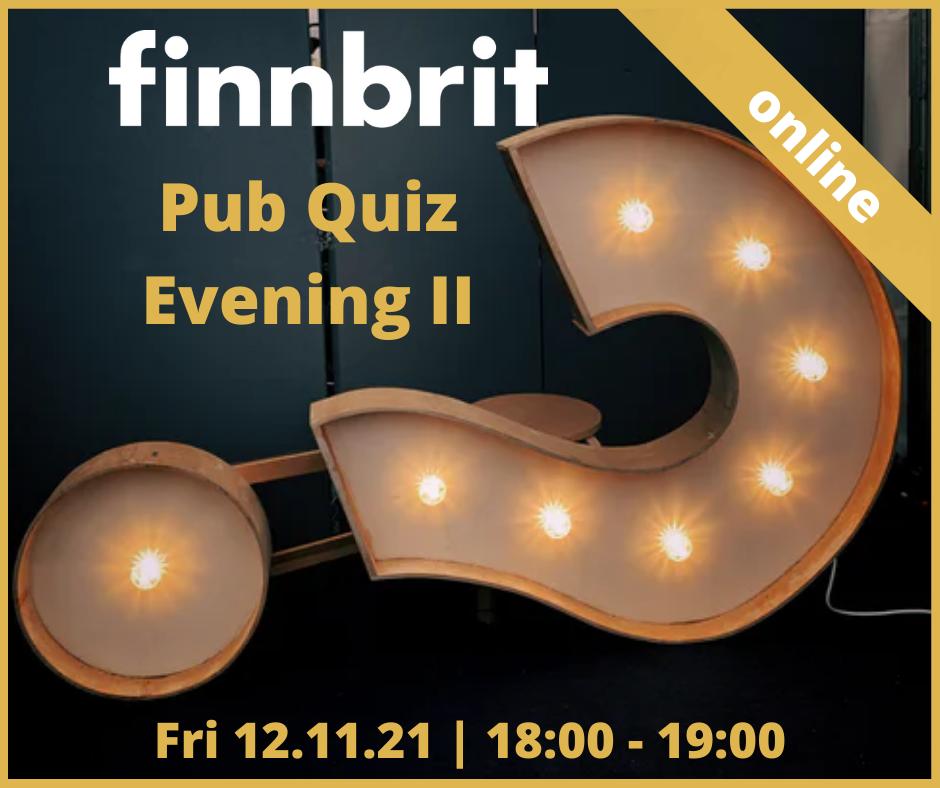 Pub Quiz Evening II